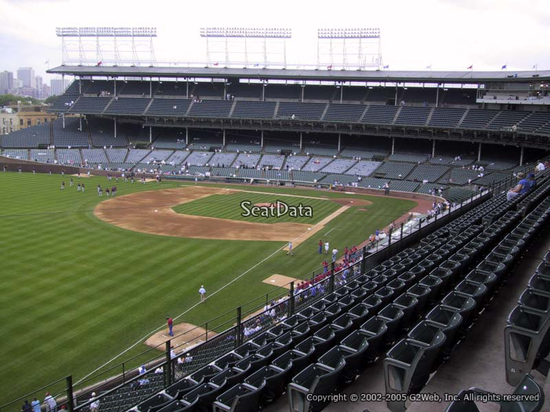 Wrigley Field Section 304 - Chicago Cubs - RateYourSeats.com