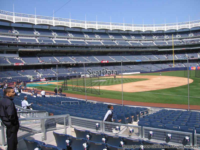 New York Yankees - Yankee Stadium Section 113 ...