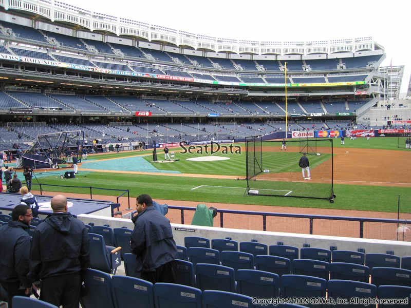 New York Yankees Seat View for Yankee Stadium Section 15A