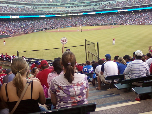 Seat View for Globe Life Park Section 50, Row 18, Seat 21