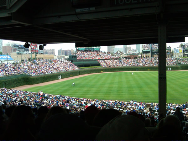 Seat View for Wrigley Field Section 207, Row 18, Seat 105