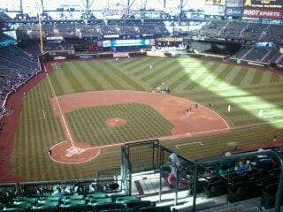 Seat View for Safeco Field Section 327, Row 16, Seat 3