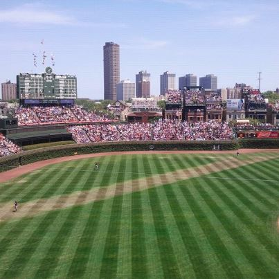Seat View for Wrigley Field Section 307