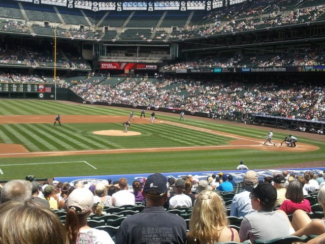 Seat View for Coors Field Section 139, Row 29, Seat 1