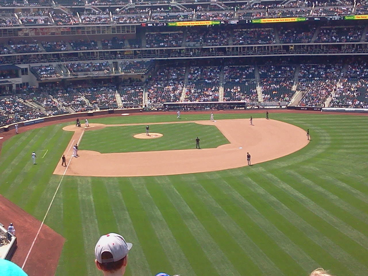Seat View for Citi Field Section 302, Row 2, Seat 13
