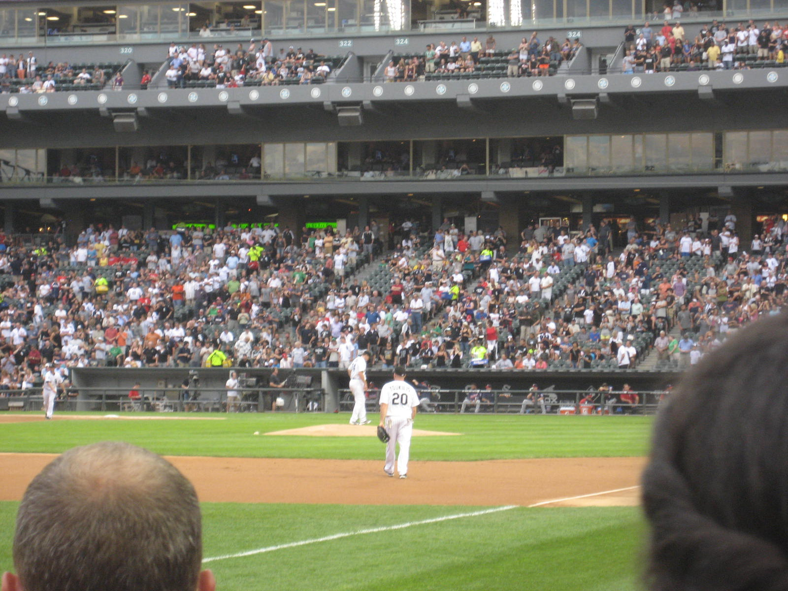 Seat View for Guaranteed Rate Field Section 148, Row 2, Seat 3