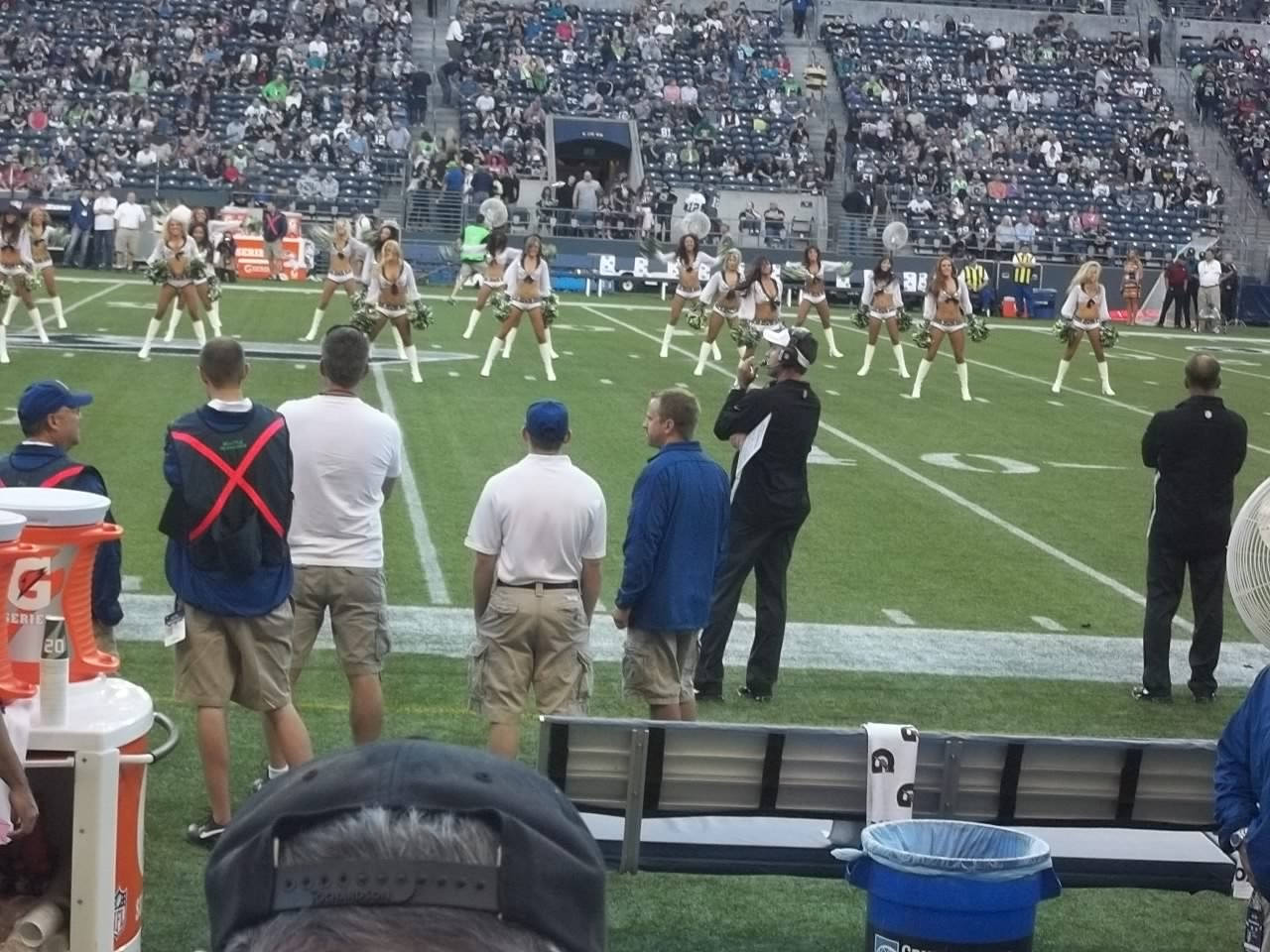 Seattle Seahawks Seat View for CenturyLink Field Section 108, Row C, Seat 6