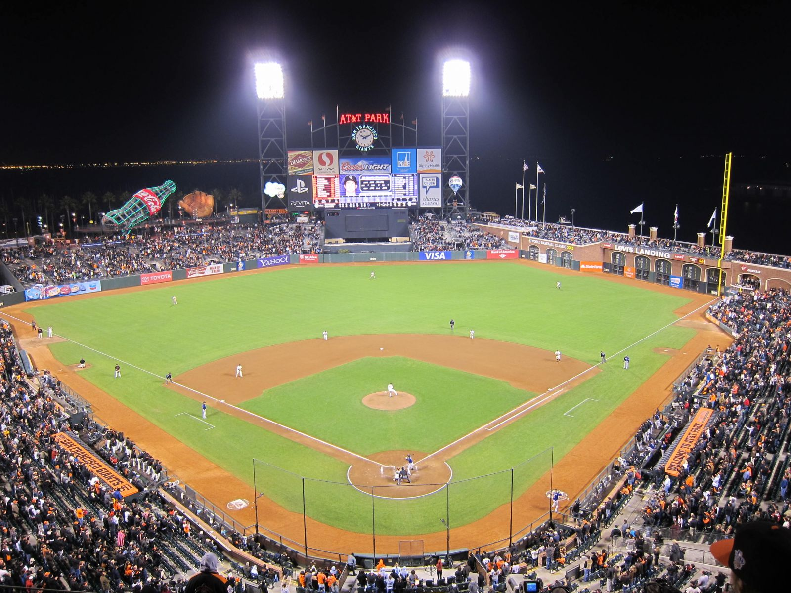 San Francisco Giants Seat View for Oracle Park Section 315, Row 2, Seat 16
