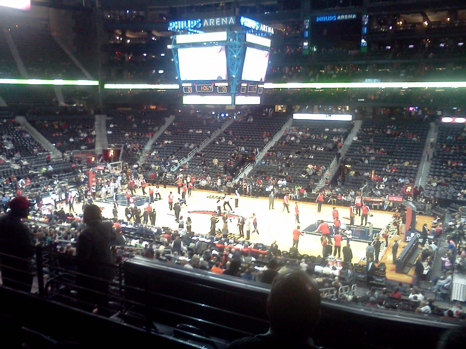 Fans Sitting Near Philips Arena Section 210