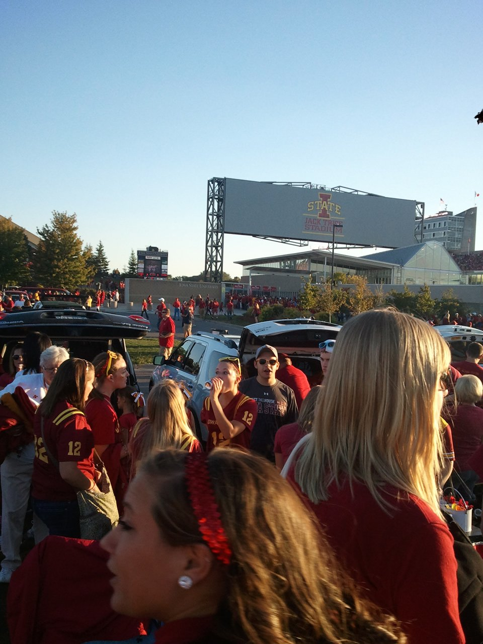 Tailgating at Jack Trice Stadium