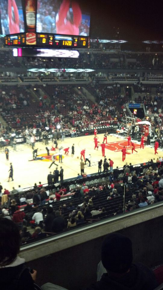 Chicago Bulls Seat View for United Center Section 213