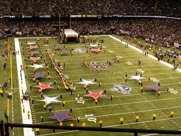 New Orleans Saints Seat View for Superdome Section 604, Row 4, Seat 6