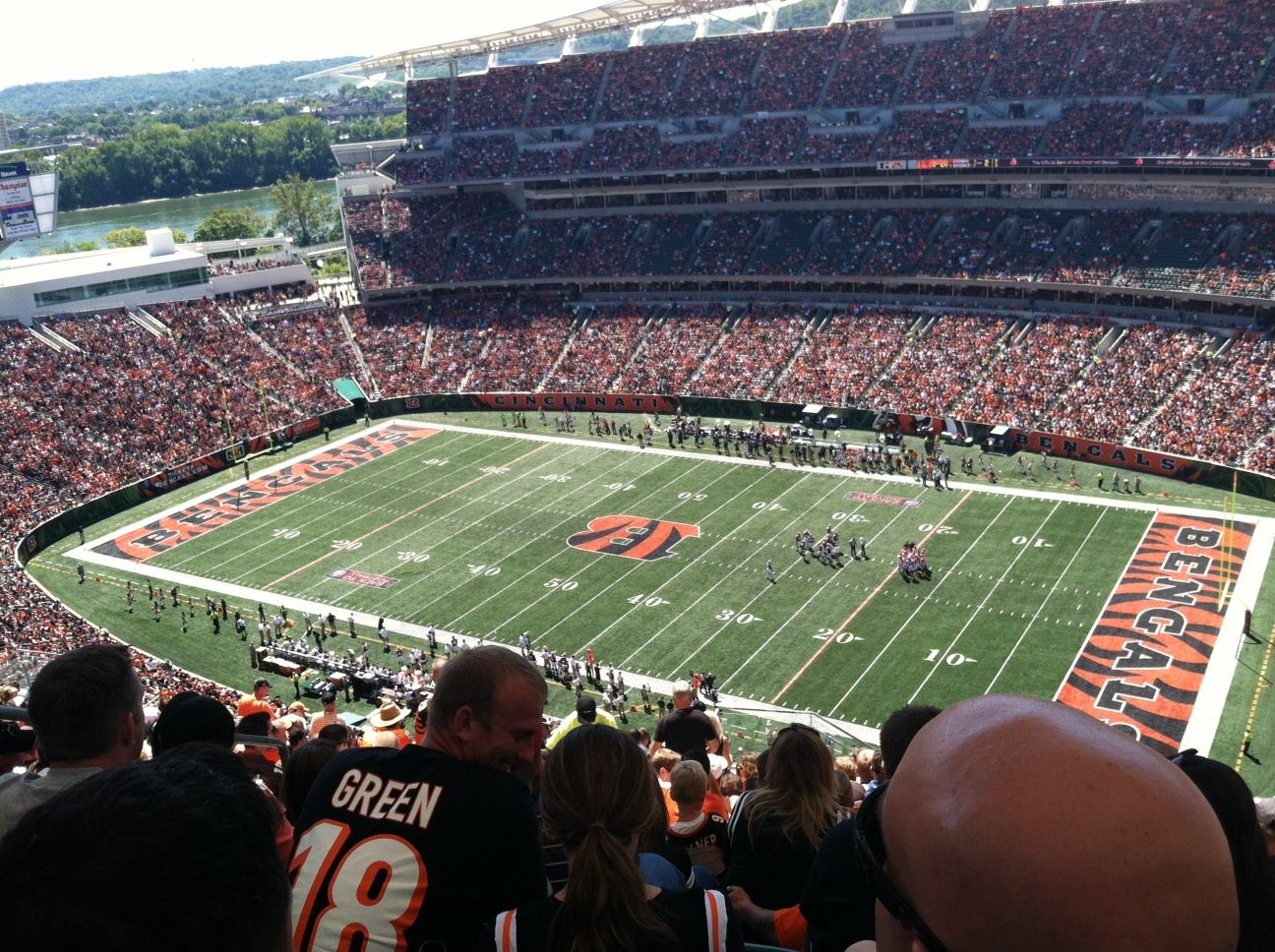 Section 335 seat view