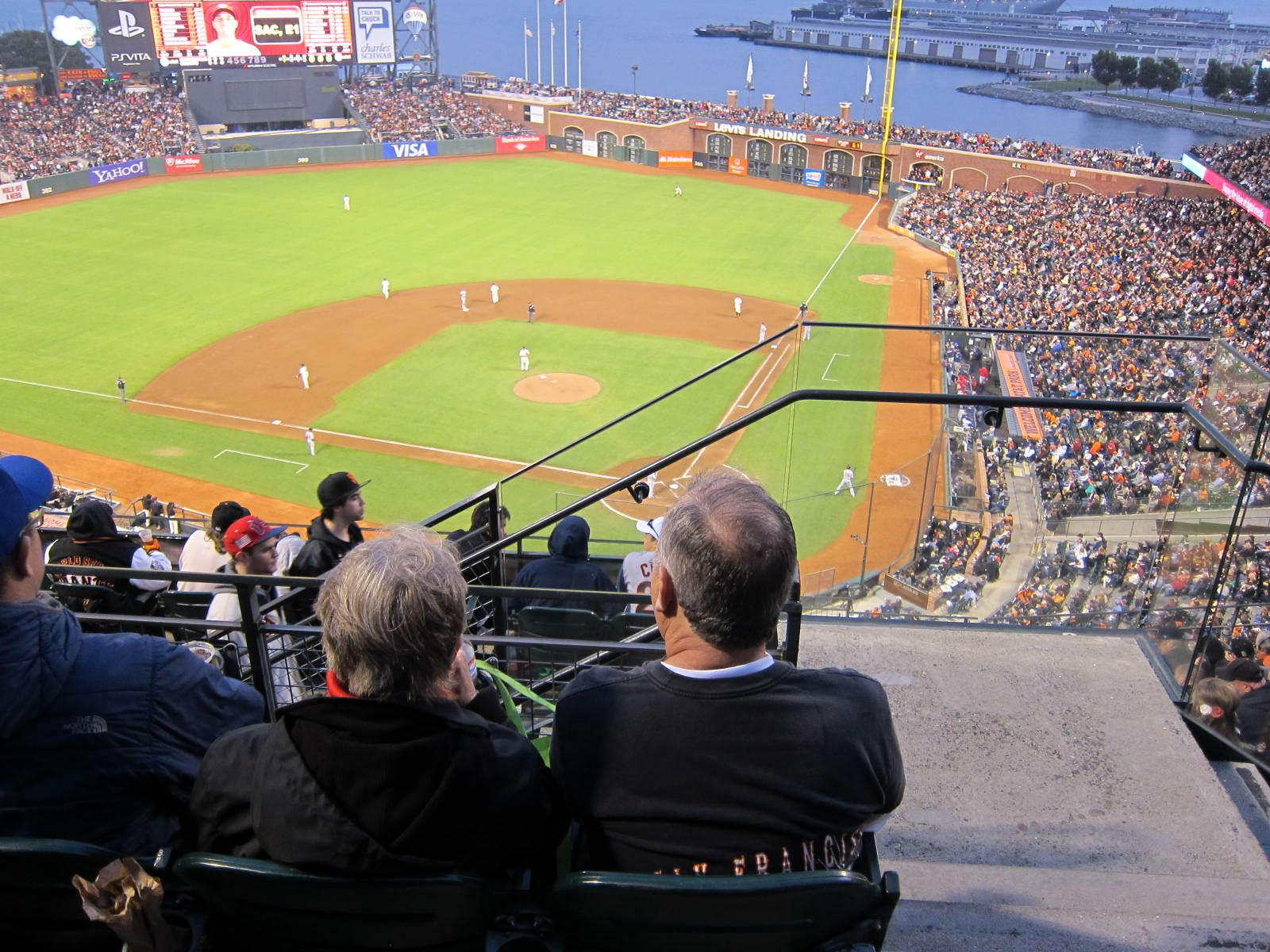 San Francisco Giants Seat View for Oracle Park Section 319, Row 3, Seat 1