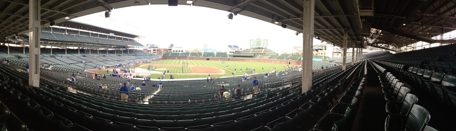 Seat View for Wrigley Field Section 223, Row 10, Seat 112