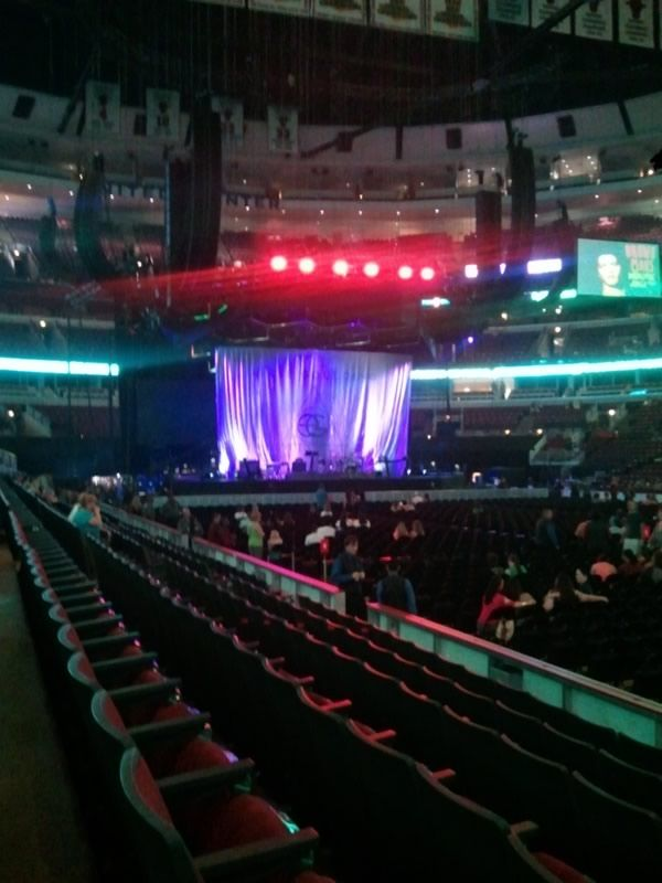 Concert Seat View for United Center Section 109, Row 6, Seat 22