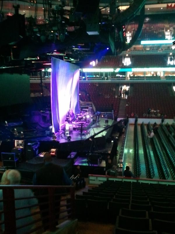 Concert Seat View for United Center Section 113, Row 18, Seat 14