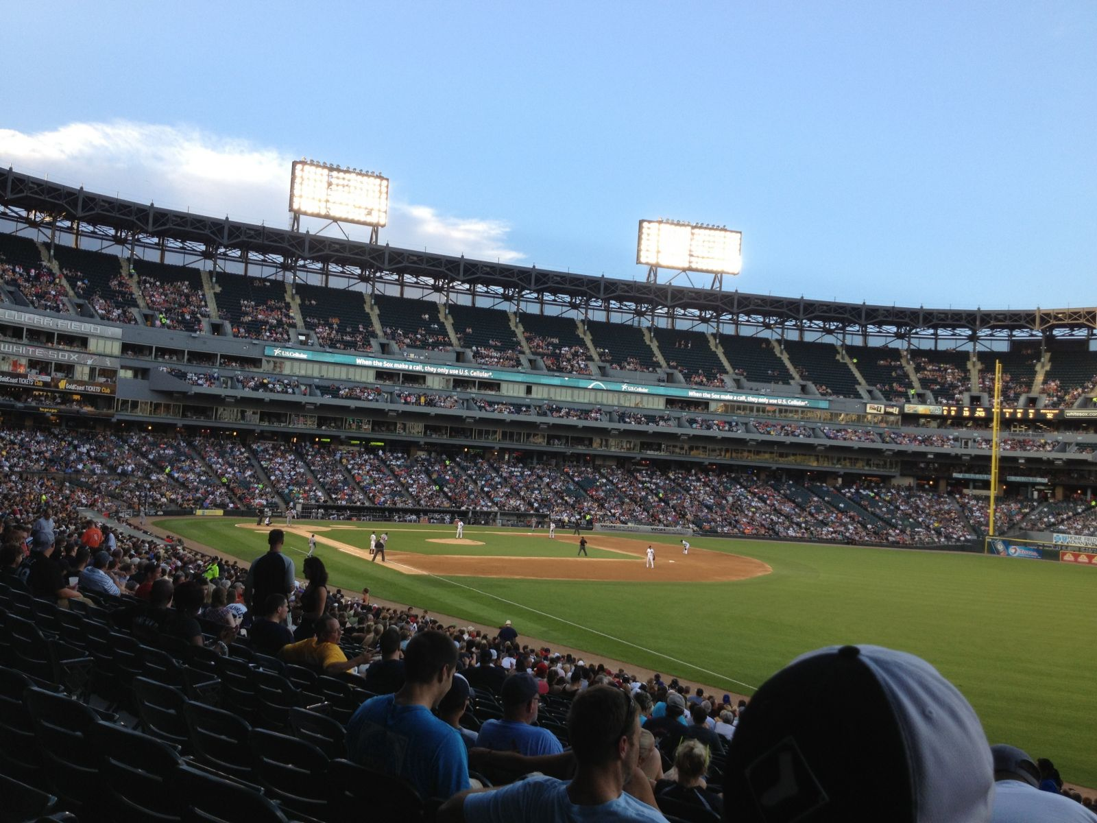 Seat View for Guaranteed Rate Field Section 111, Row 31, Seat 1