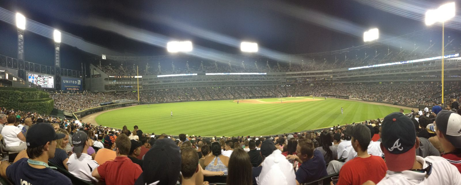 Seat View for Guaranteed Rate Field Section 161, Row 21, Seat 8