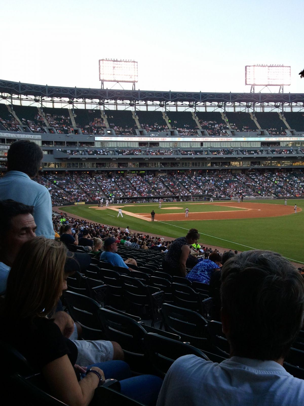 Seat View for Guaranteed Rate Field Section 110, Row 31, Seat 23