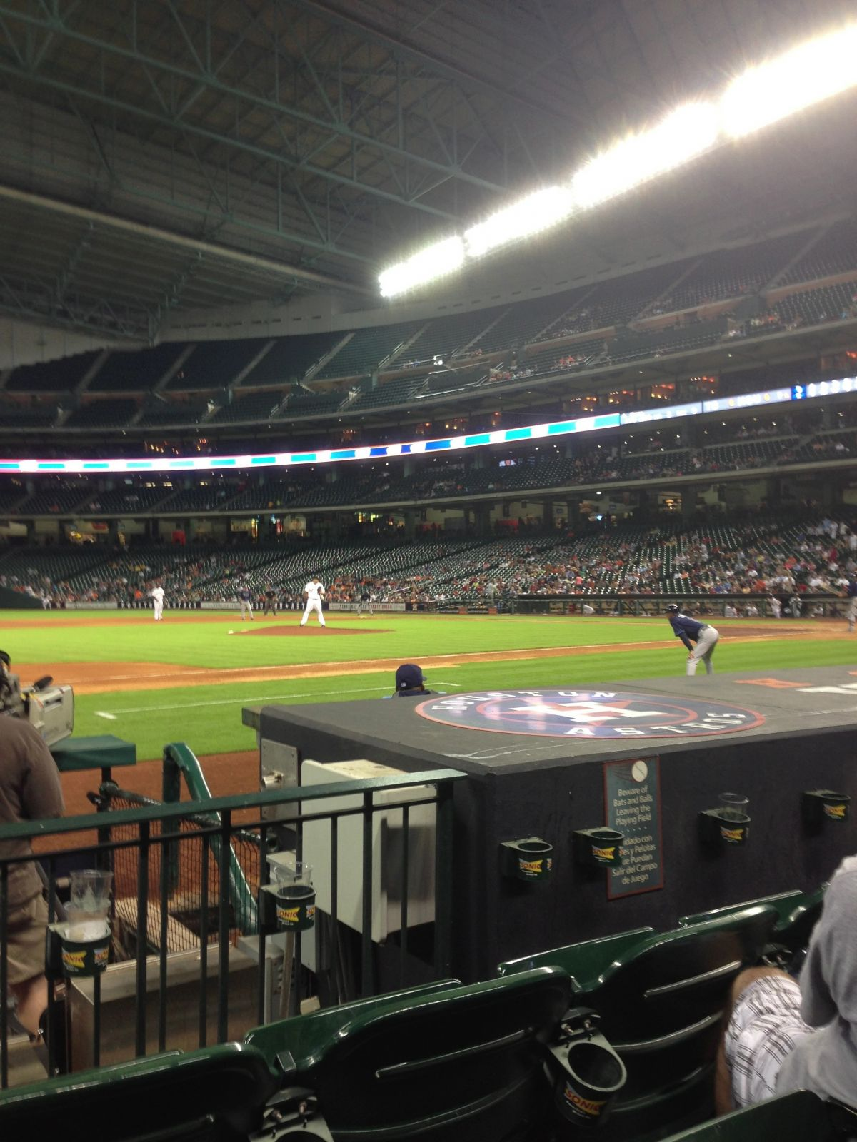 Seat View for Minute Maid Park Section 112, Row 7, Seat 1