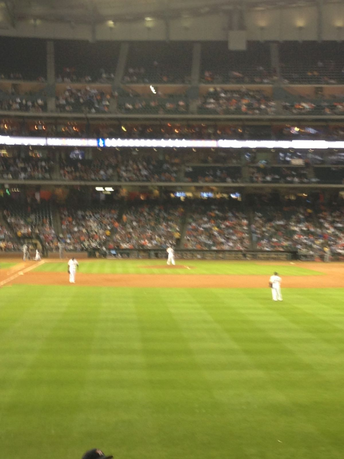 Seat View for Minute Maid Park Section 152, Row 10, Seat 1