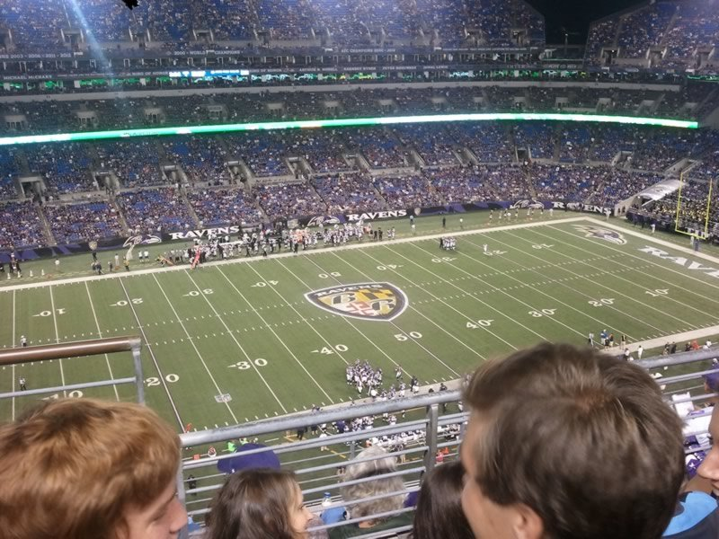 Seat View for M&T Bank Stadium Section 529, Row 6, Seat 15