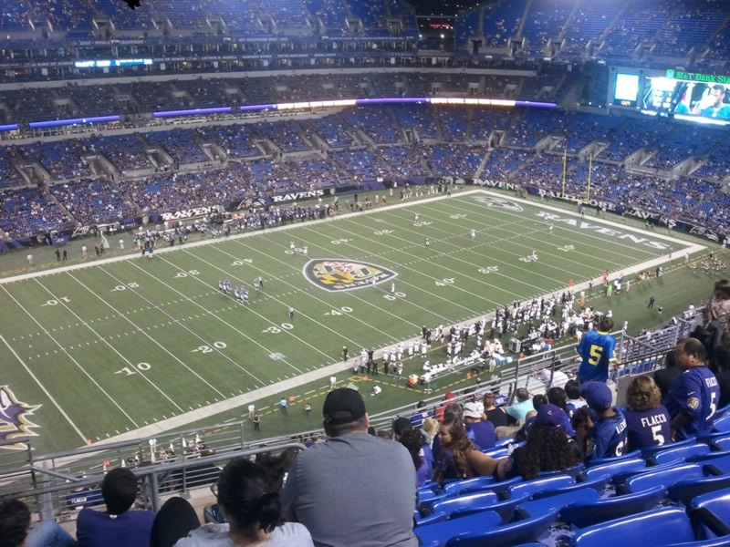 Section 504 seat view