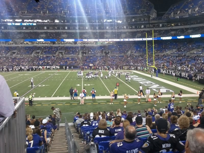 Section 150 seat view