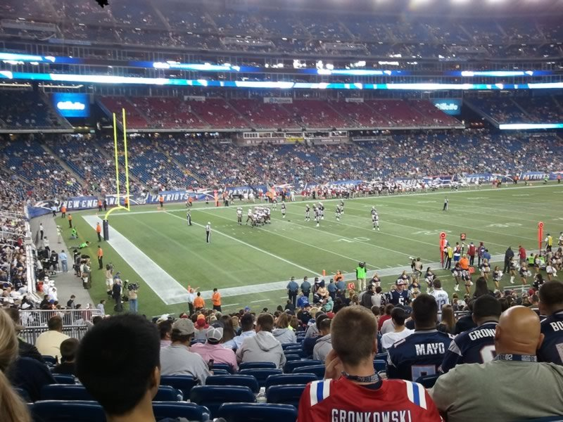 Section 115 seat view
