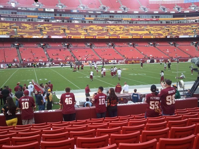 Section 102, Row 10