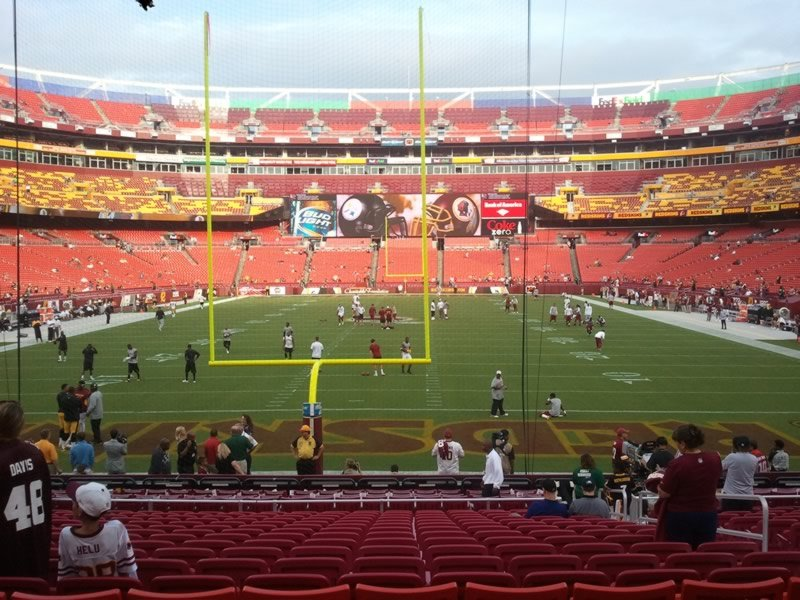 Seat View for FedExField Section 411, Row 18, Seat 6