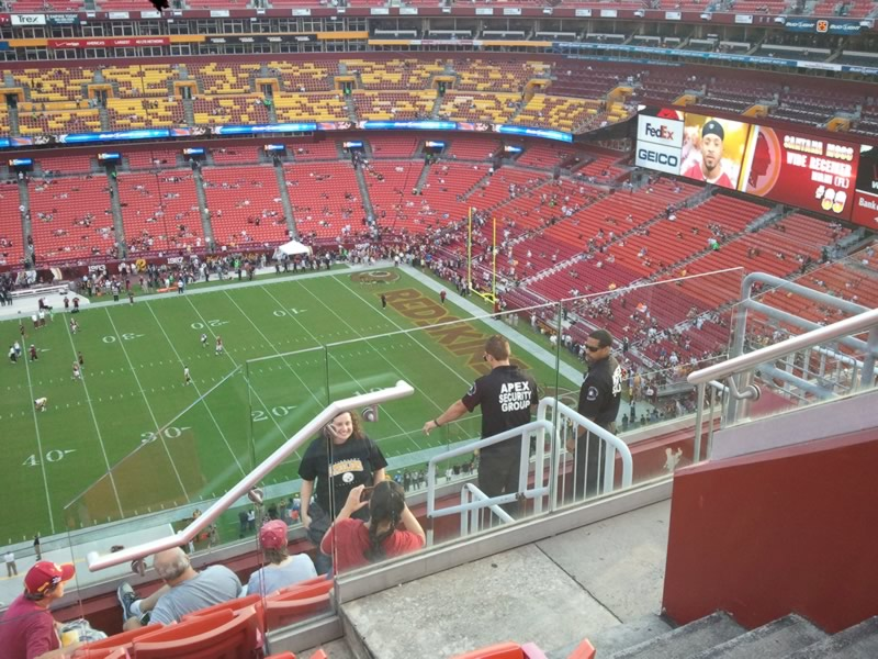 Seat View for FedExField Section 427, Row 7, Seat 7