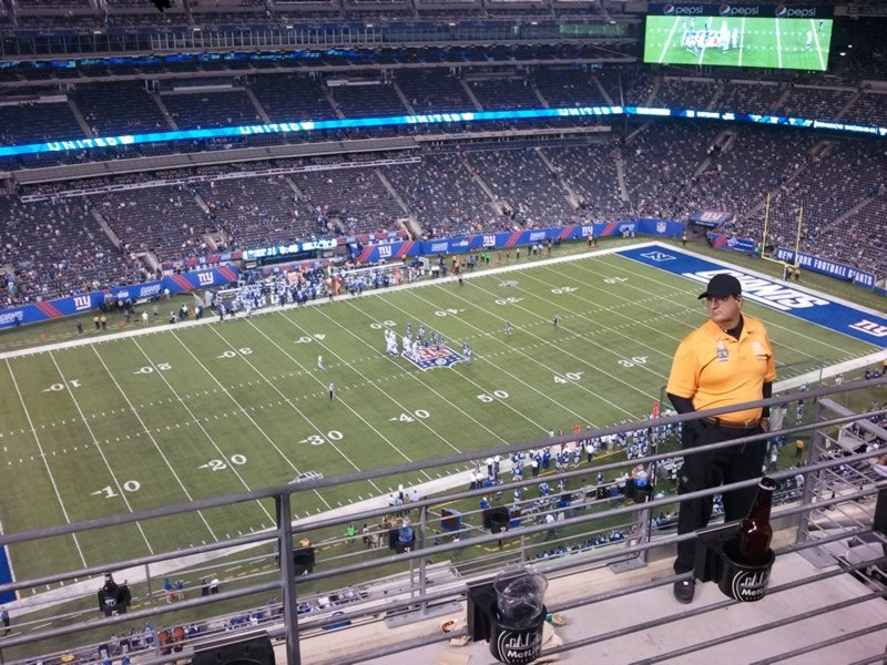 Seat View for MetLife Stadium Section 317, Row 9, Seat 4