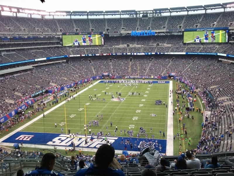 Seat View for MetLife Stadium Section 224B, Row 13, Seat 19