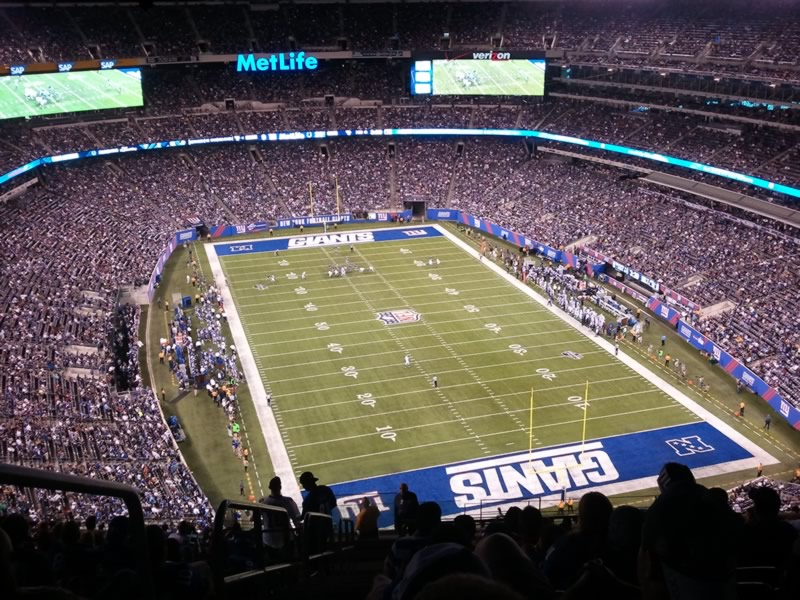 Seat View for MetLife Stadium Section 303, Row 23, Seat 29