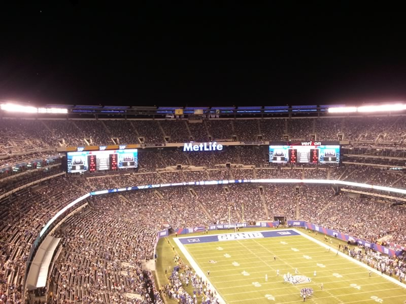 Seat View for MetLife Stadium Section 305, Row 17, Seat 11