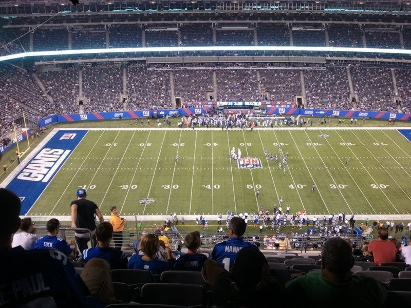 Seat View for MetLife Stadium Section 314, Row 19, Seat 19