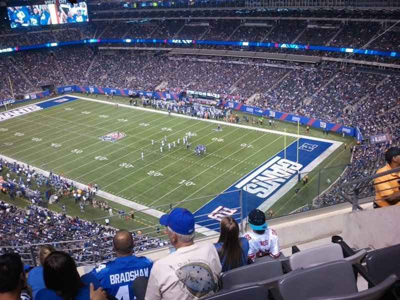 Section 307 seat view