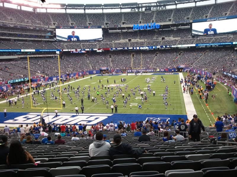 Seat View for MetLife Stadium Section 124, Row 39, Seat 5