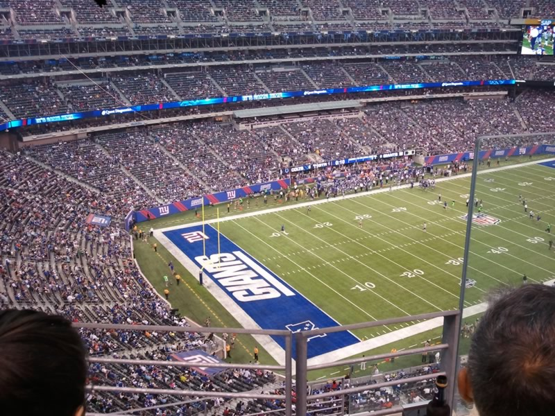 Seat View for MetLife Stadium Section 345, Row 6, Seat 2
