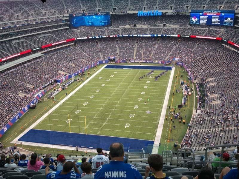 MetLife Stadium Section 324 - Giants/Jets - RateYourSeats.com
