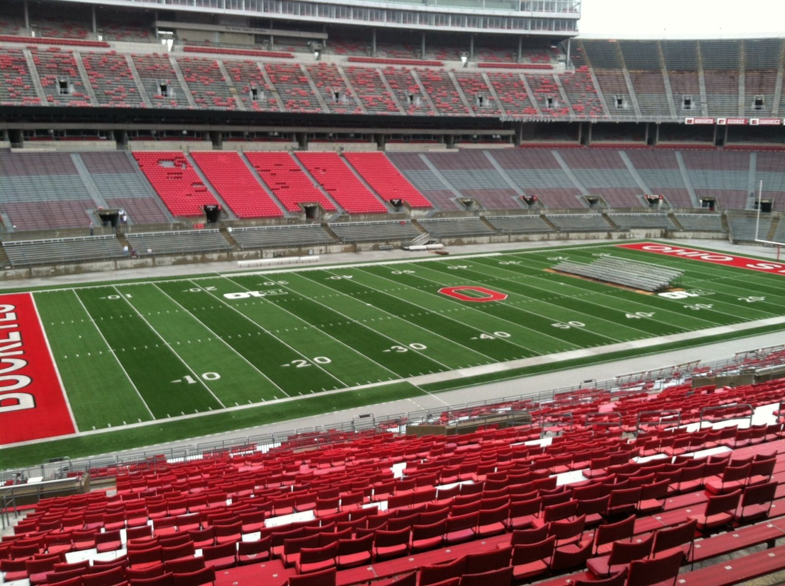Seat View for Ohio Stadium Section 24B, Row 1