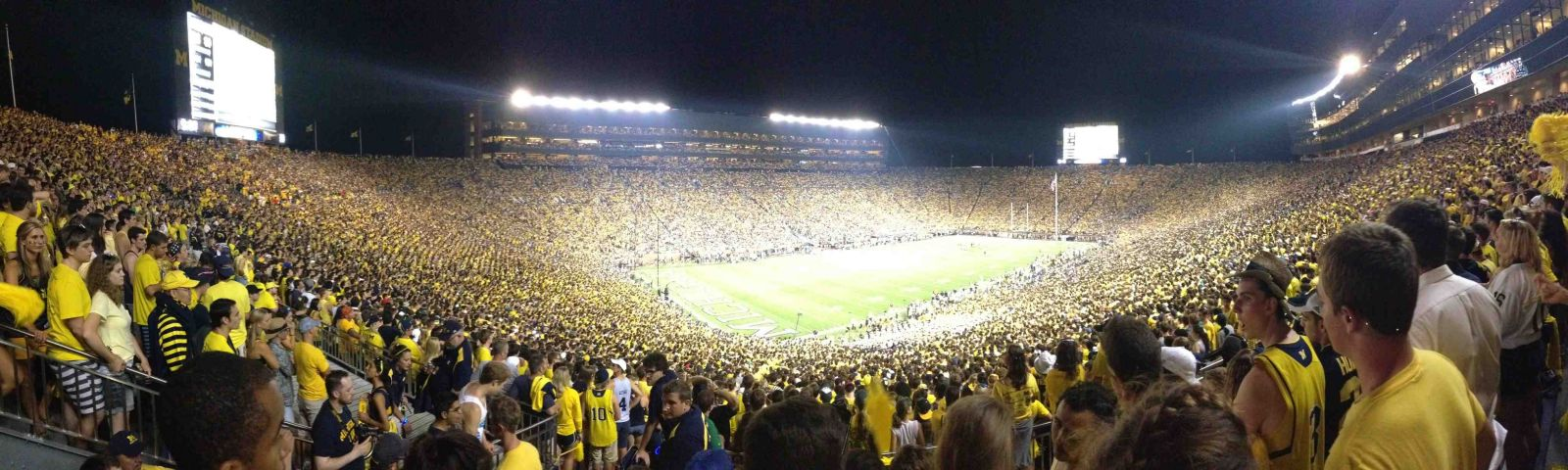 Seat View for Michigan Stadium Section 29, Row 77