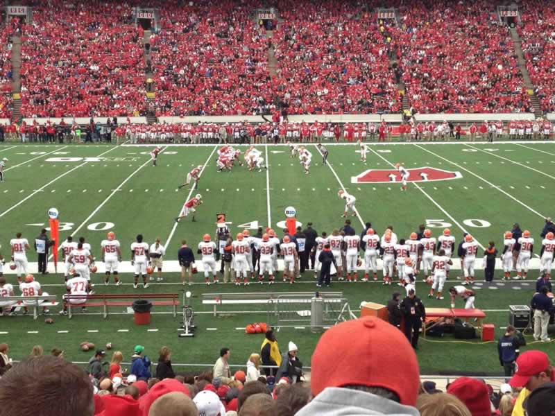 Section U seat view