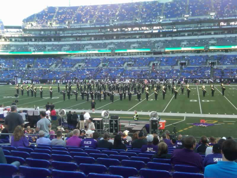Seat View for M&T Bank Stadium Section 152, Row 12, Seat 12