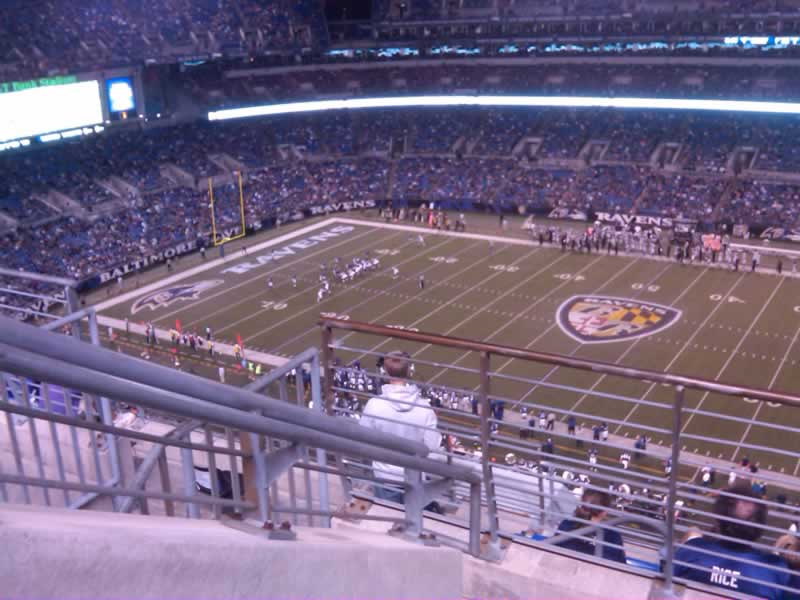 Section 524, Row 7
