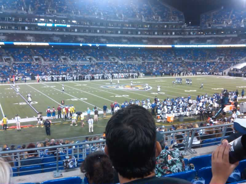 Section 129, Row 23