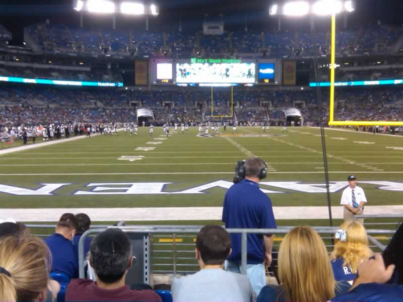 Seat View for M&T Bank Stadium Section 141, Row 7, Seat 4