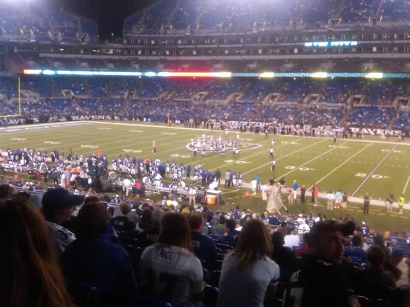 Seat View for M&T Bank Stadium Section 124, Row 34, Seat 5